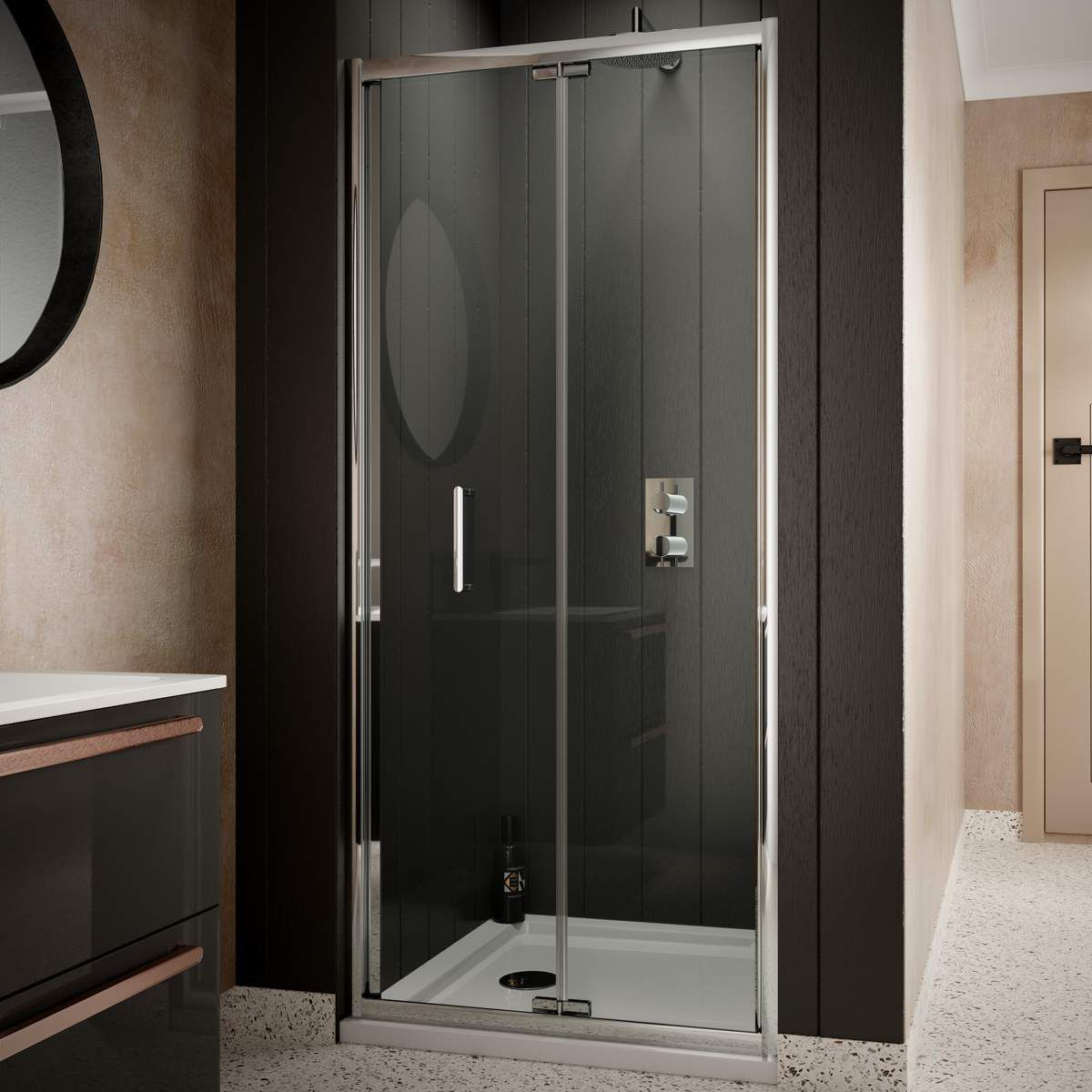 Sommer 6 Bi Fold Shower Enclosure