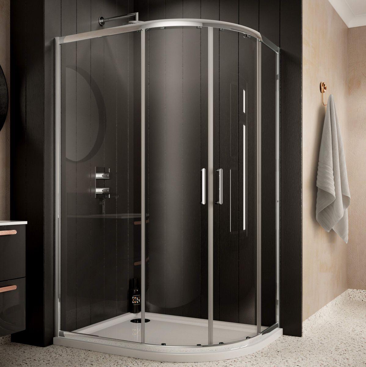 Sommer Offset Quadrant Shower Enclosures : UK Bathrooms