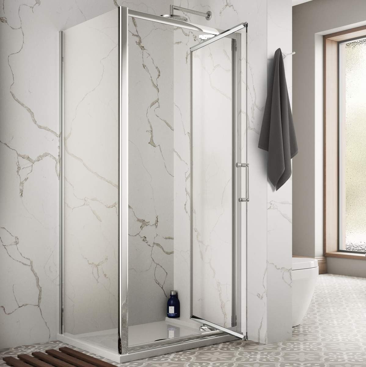 Sommer 8 Infold Shower Door Uk Bathrooms