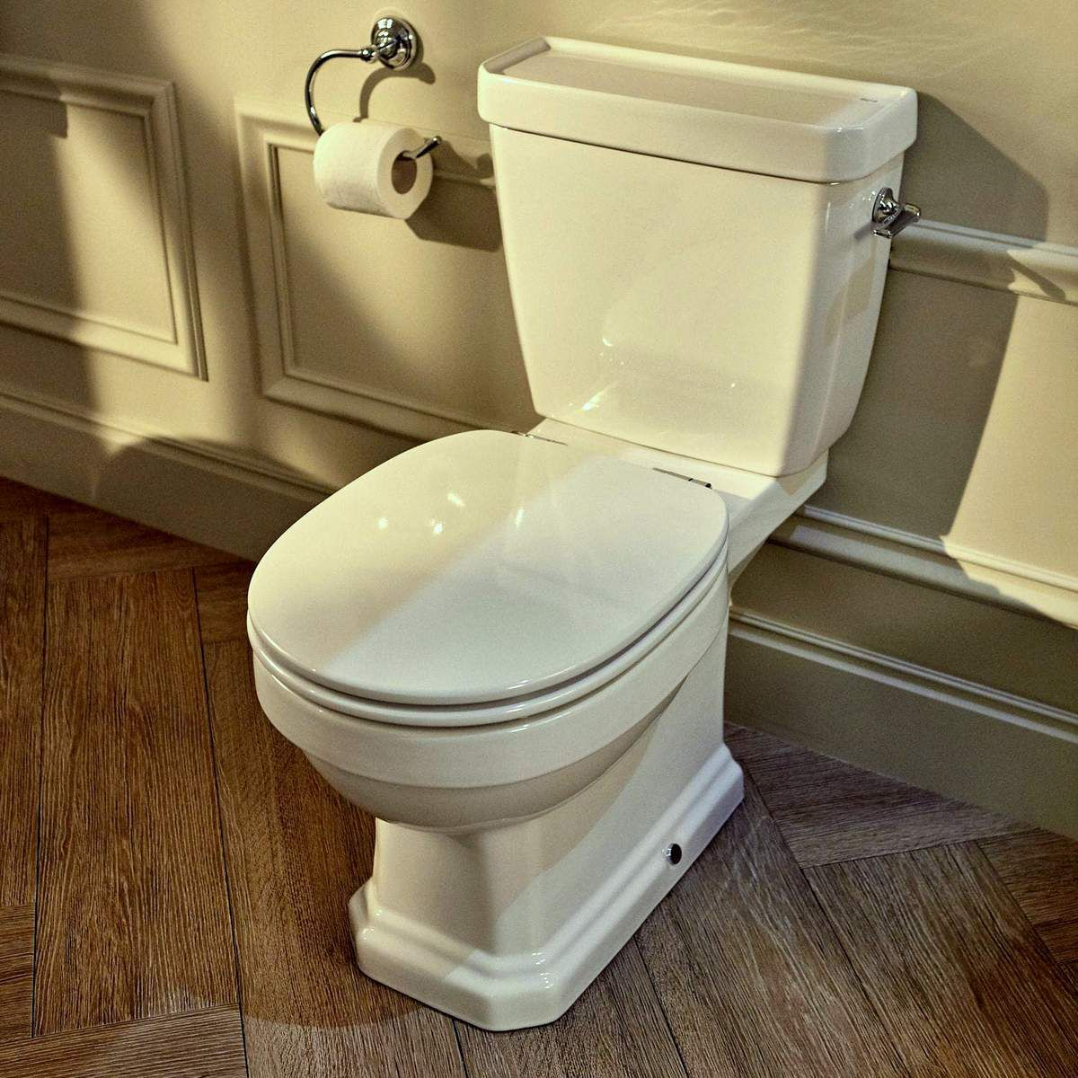 Roca Carmen Close Coupled Rimless Toilet Uk Bathrooms