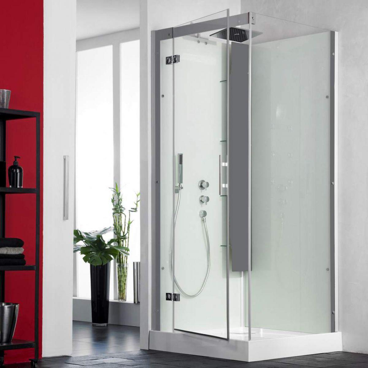 Kinedo Horizon Pivot Door Shower Cubicle : UK Bathrooms