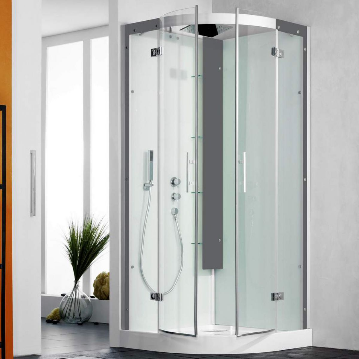 Kinedo Horizon Pivot Door Quadrant Shower Cubicle