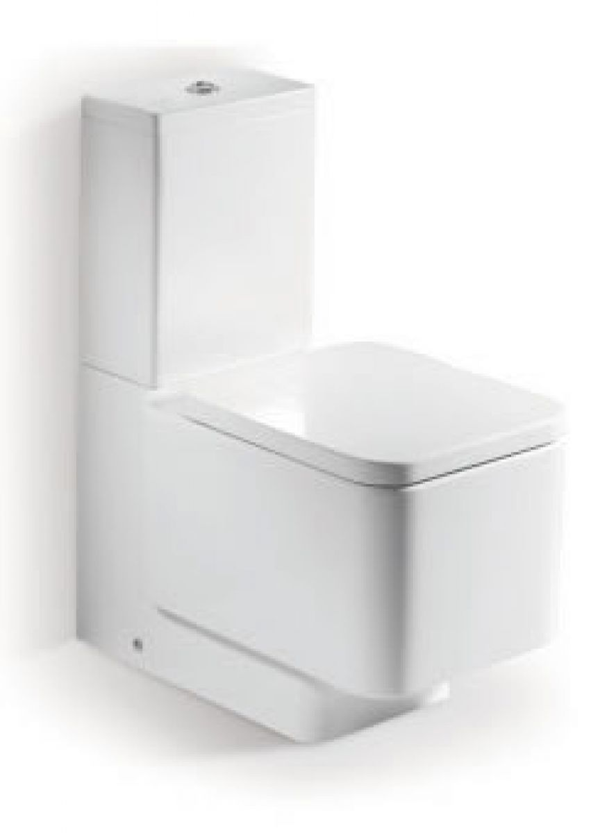 Roca Elements Close Coupled Toilet Uk Bathrooms