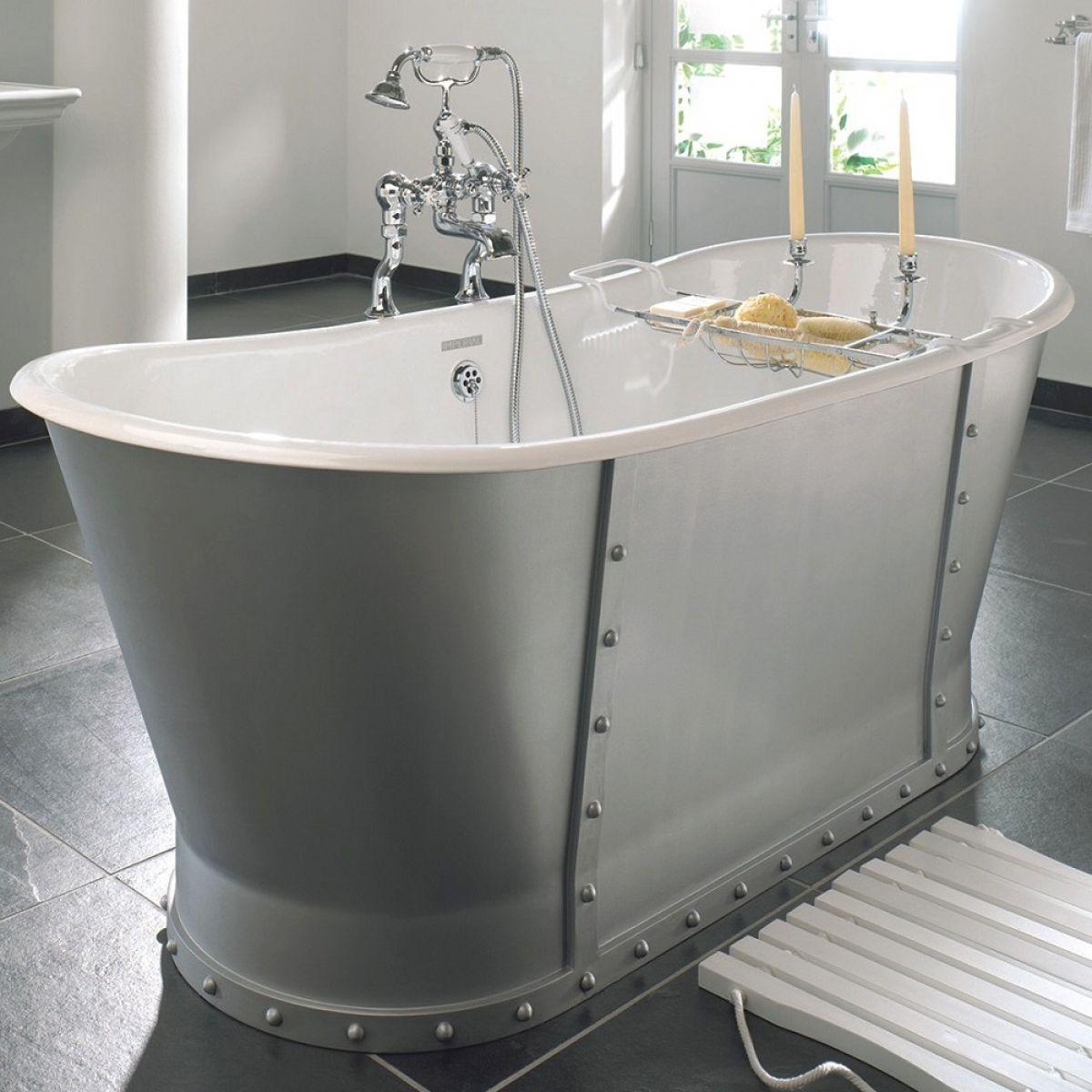 Banburgh Cast Iron Bath: Imperial Baglioni Cast Iron Bath : UK Bathrooms