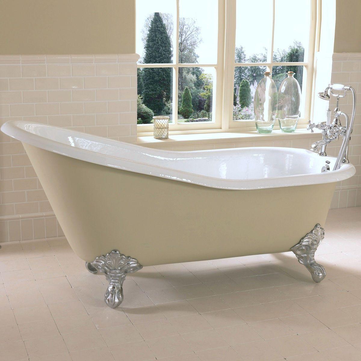 Imperial Ritz Cast Iron Slipper Bath : UK Bathrooms