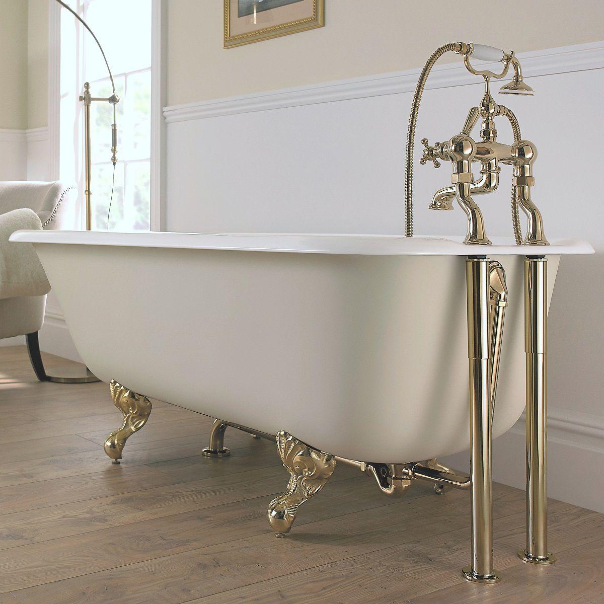 Imperial Waldorf Cast Iron Bath : UK Bathrooms