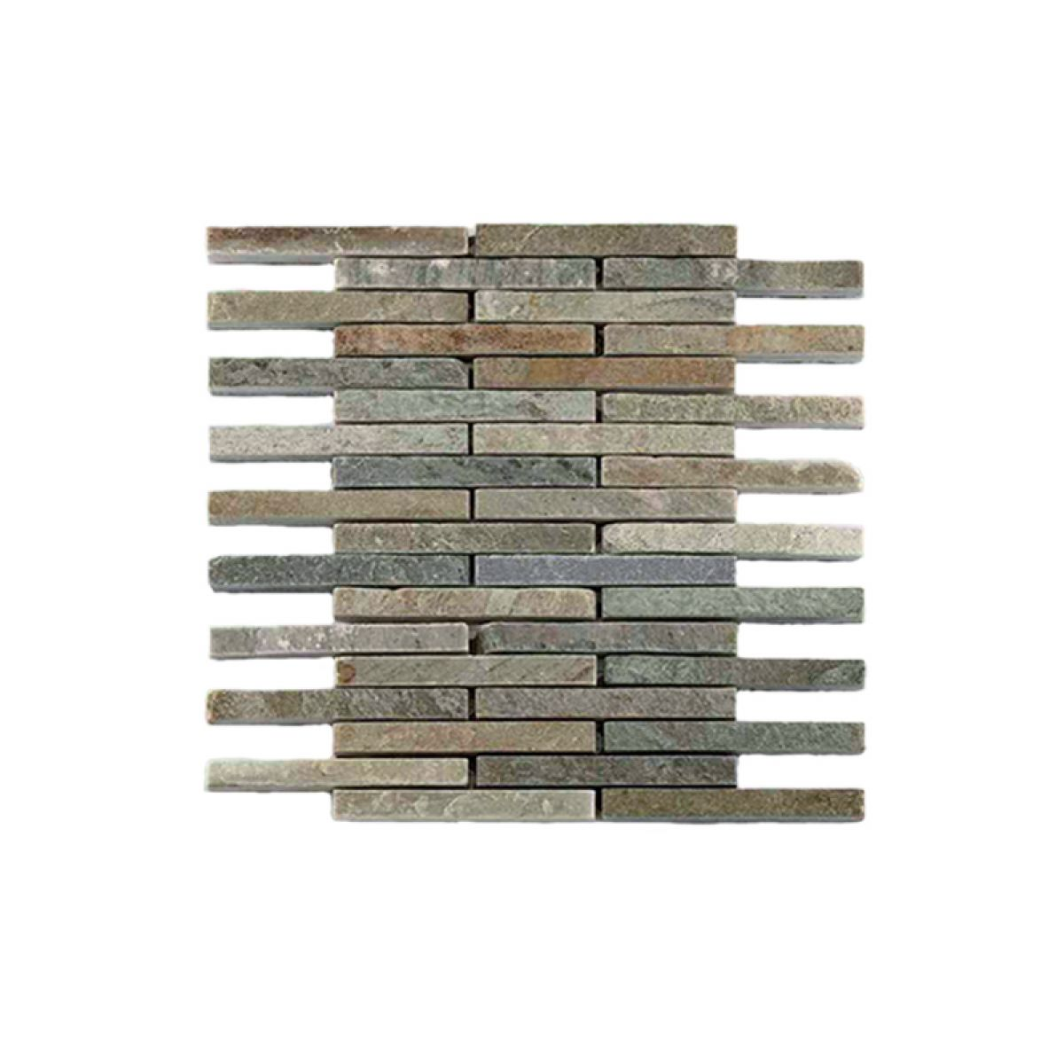 Abacus Natural Stone Pencil Tile 30 5 x 30 5cm
