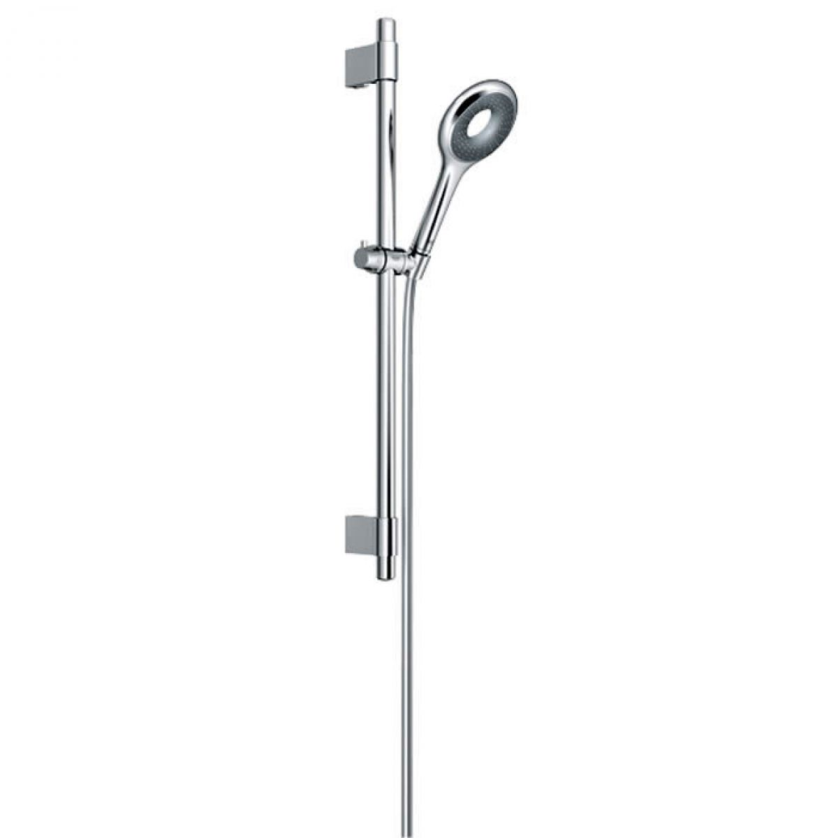 grohe rainshower icon rail shower set 600mm ukbathrooms. Black Bedroom Furniture Sets. Home Design Ideas