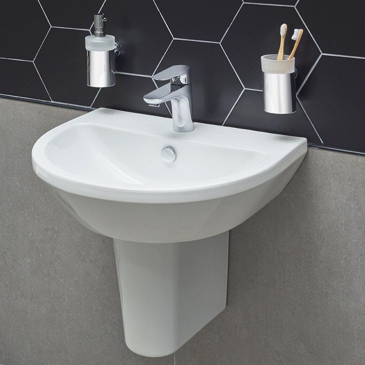 Vitra Integra Round Cloakroom Basin Uk Bathrooms