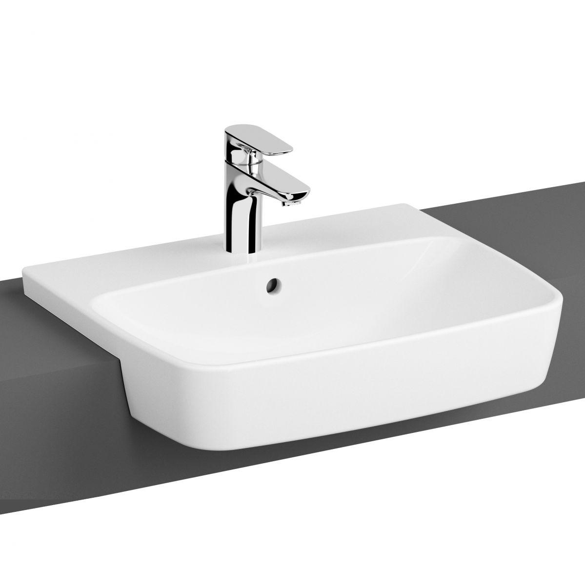 Vitra Shift Semi Recessed Basin 70730030001 Uk Bathrooms