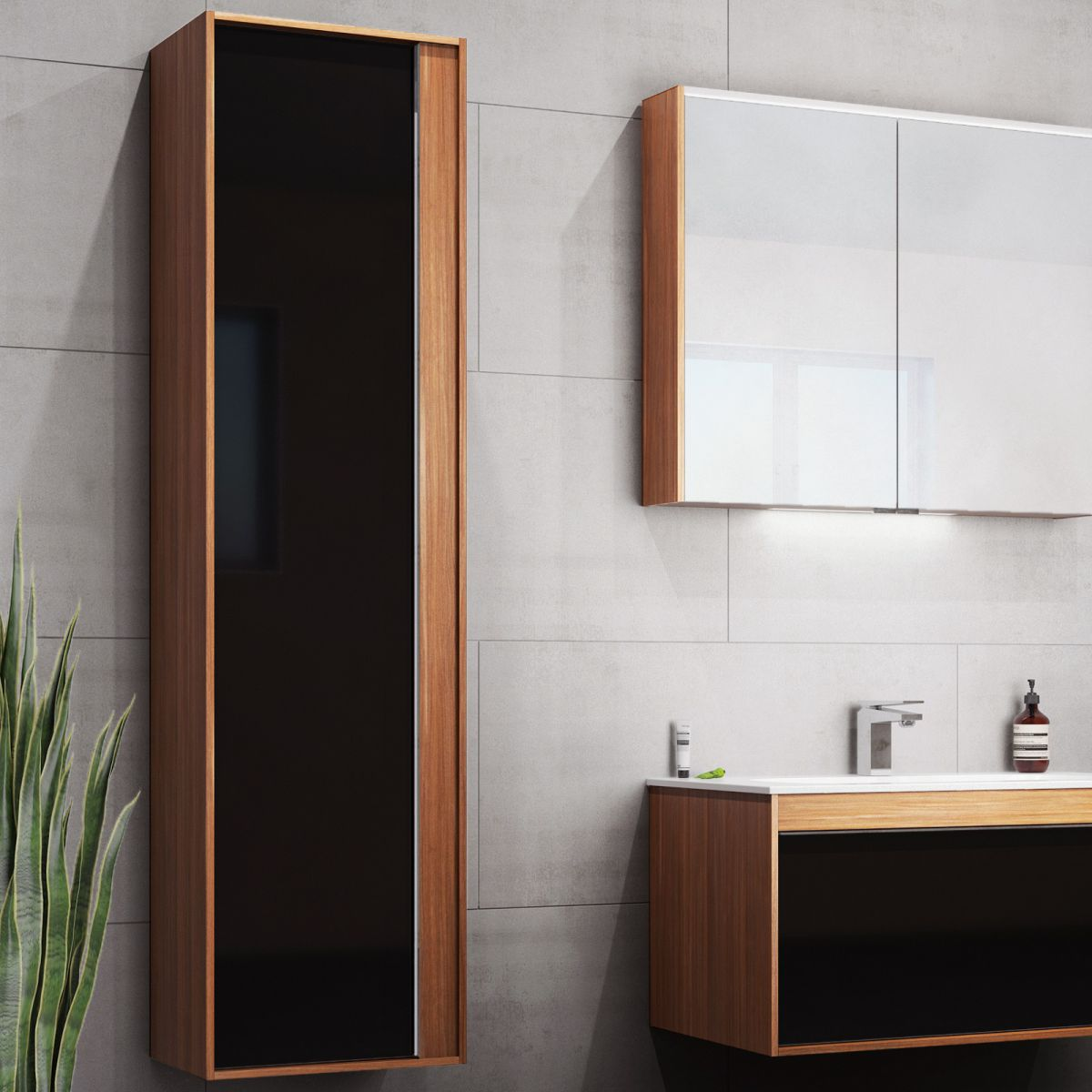 image example of modern contemporary bathroom furniture