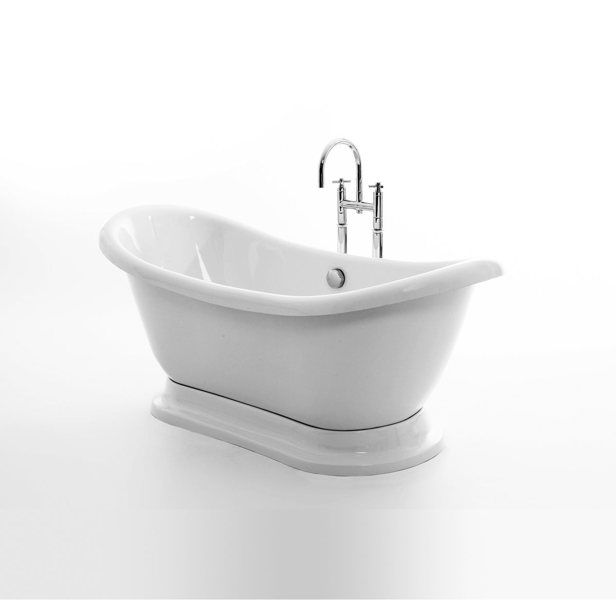 Royce Morgan Melrose Double Ended Freestanding Bath with Plinth