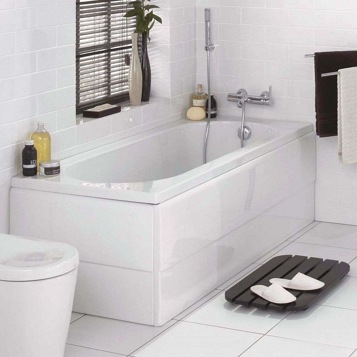 image example of a single ended bath