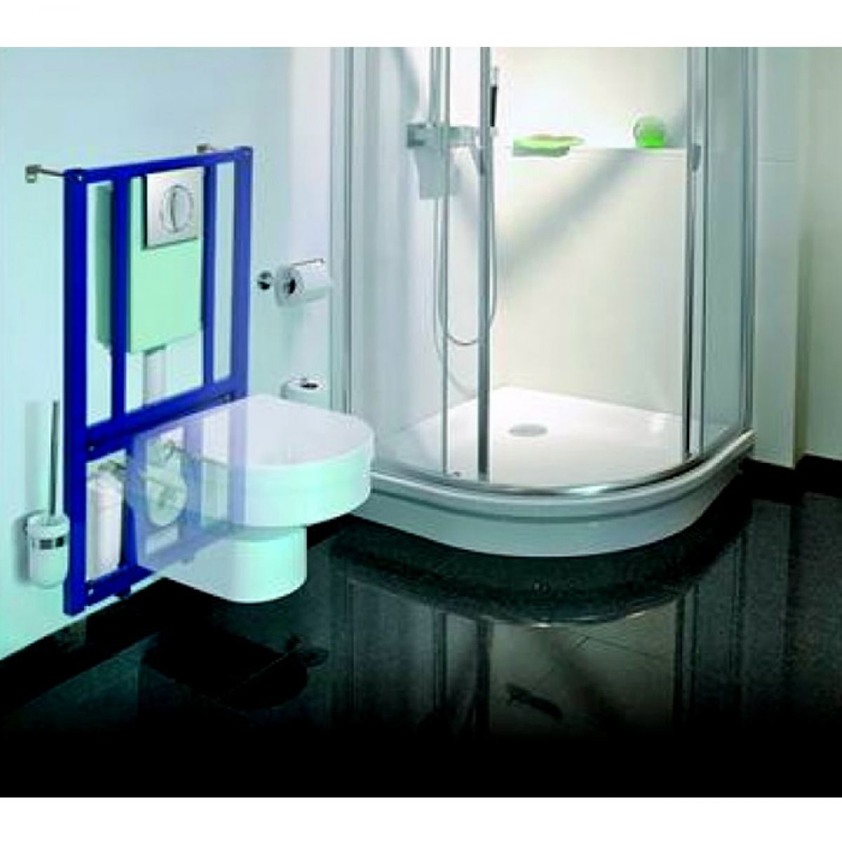 Saniflo Saniwall Macerator With Wc Frame Uk Bathrooms