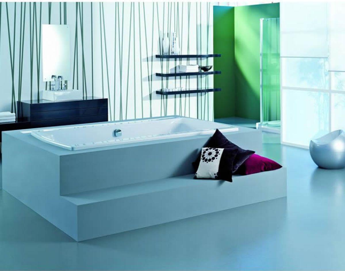 Adamsez Signa Grande Large Inset Bath : UK Bathrooms