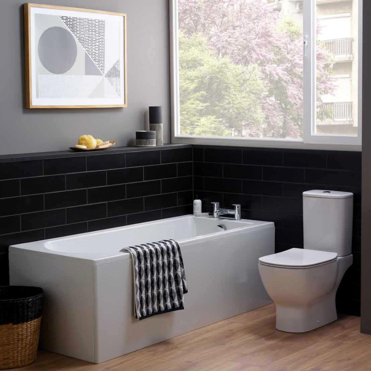 Ideal Standard Tesi Idealform Plus+ Bath : UK Bathrooms