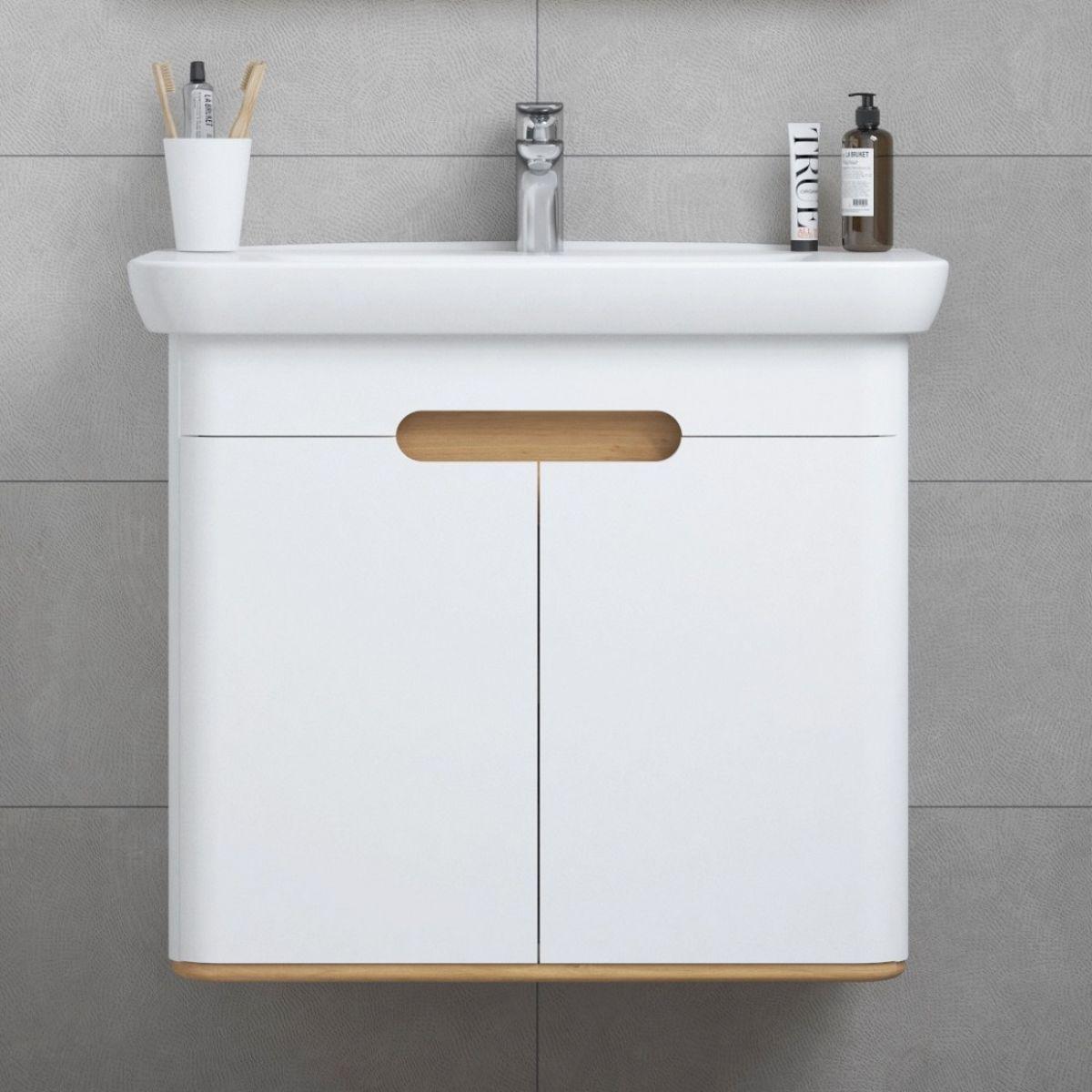 buy popular 74b63 b74b5 VitrA Sento 2 Door Vanity Unit