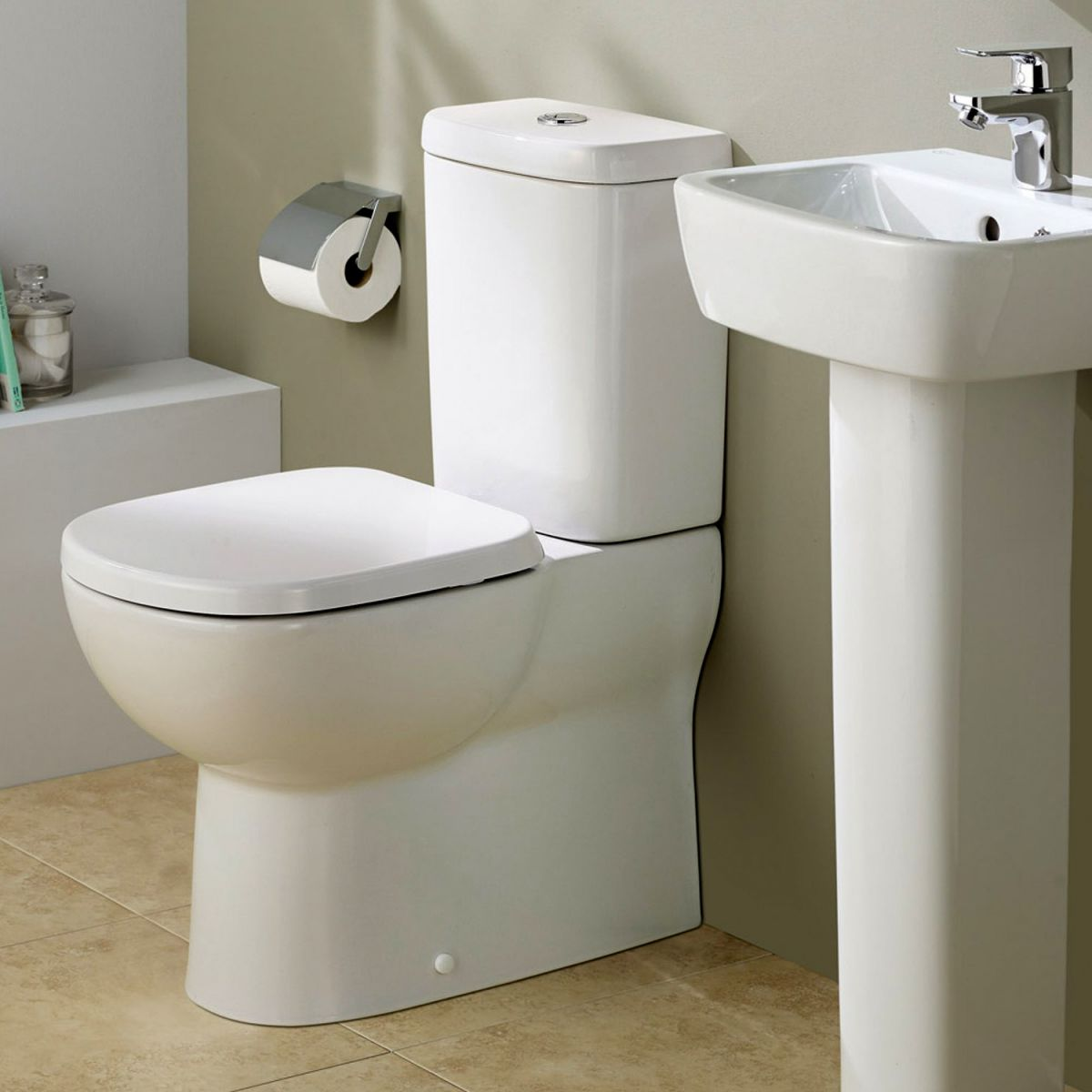 Ideal Standard Tempo Short Projection Close Coupled Toilet - T328701