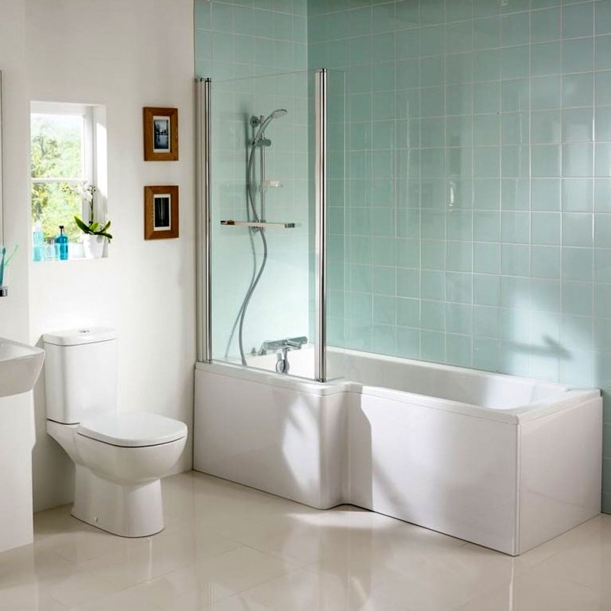Ideal Standard Tempo Cube Idealform Shower Bath