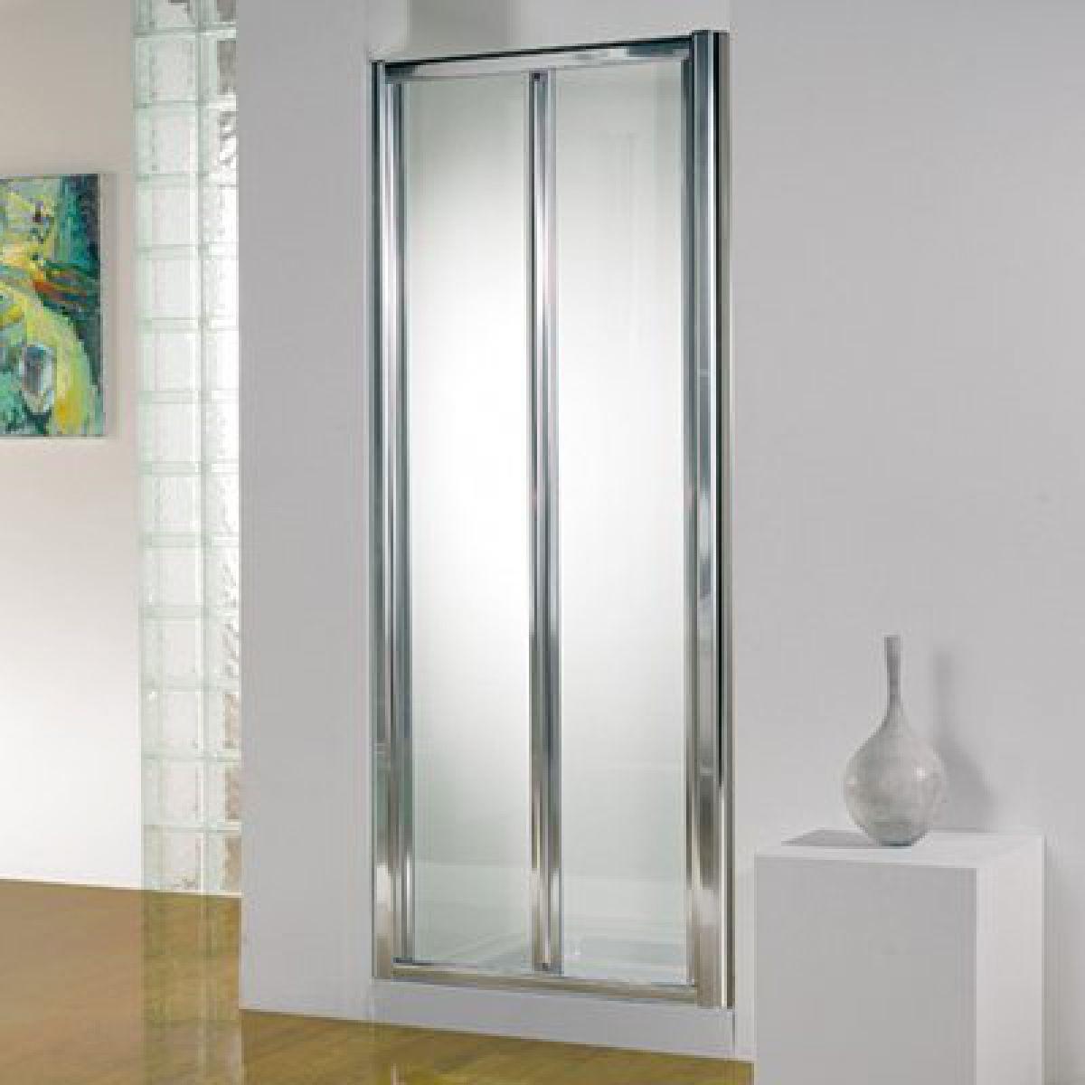 Bi fold shower door will give your bathroom an upscale look bath - 12004147194852441200 Home Shower Enclosures Bi Fold Shower Doors 837141 Bathroom Bi Fold Door 12001200 Save