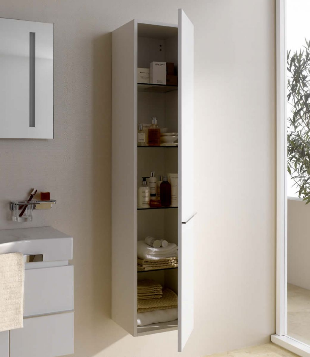 Picture of: Laufen Palace Tall Storage Cabinet Uk Bathrooms