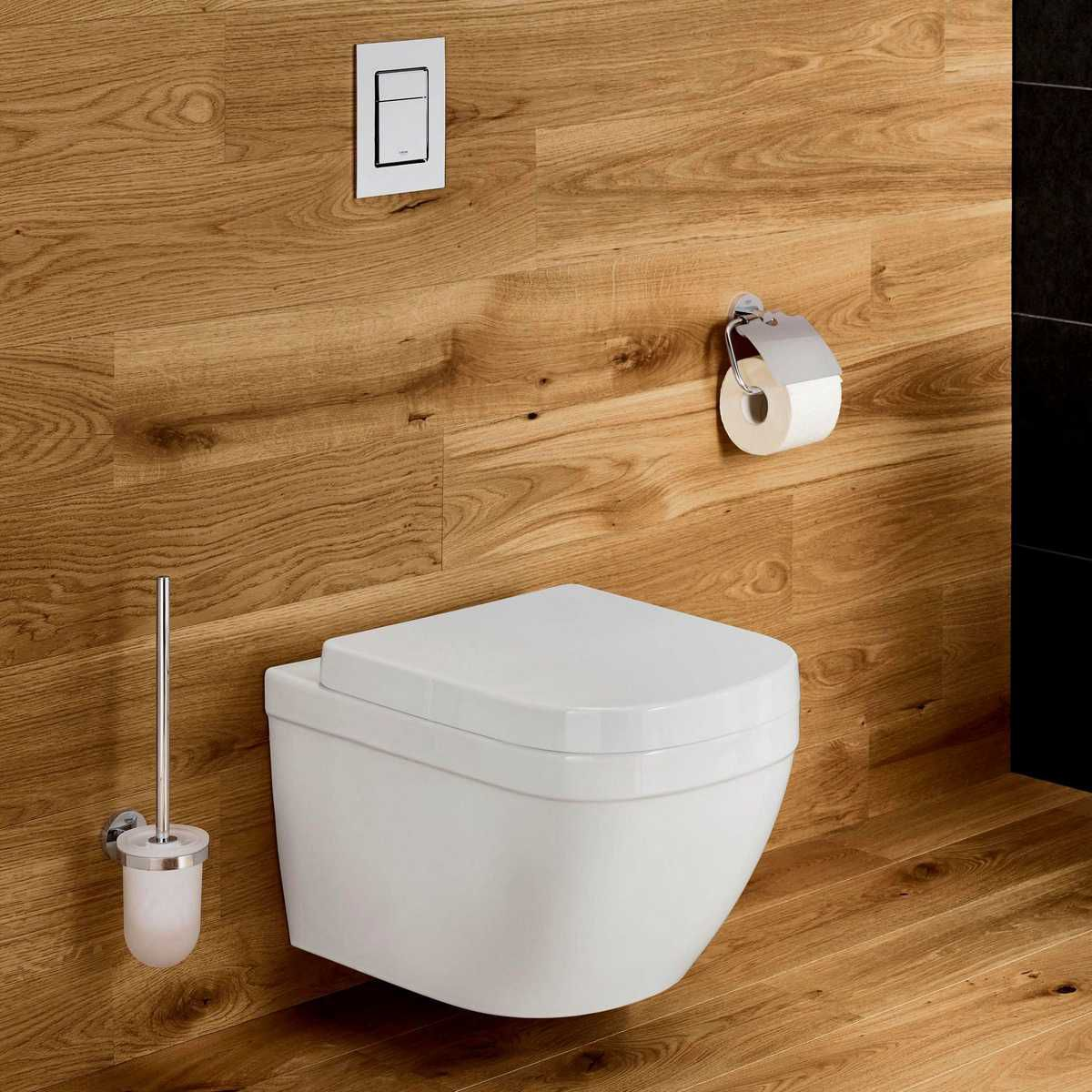 Grohe Euro Ceramic Rimless Wall Hung Toilet - 3932800H
