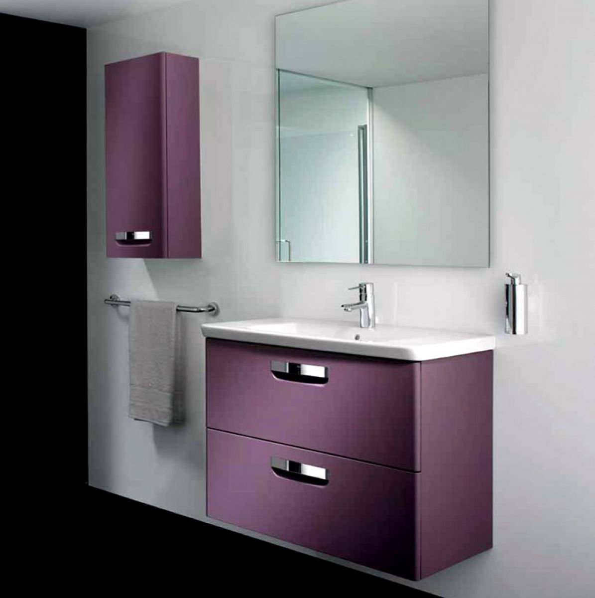 Roca The Gap N Unik Base Unit With Basin Uk Bathrooms