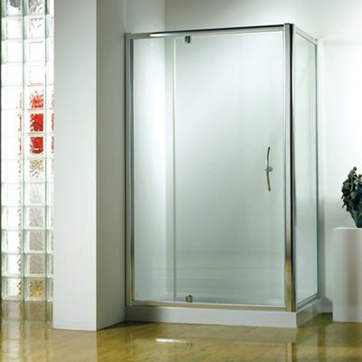 kudos original 1200mm pivot wide shower door uk bathrooms