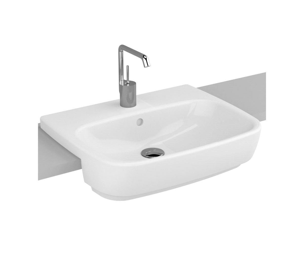 Vitra Designer Shift Semi Recessed Basin Uk Bathrooms