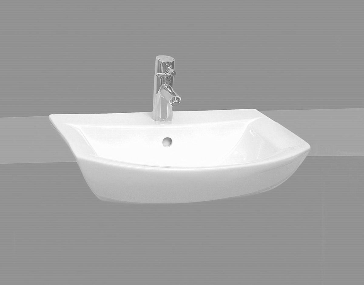 Vitra Designer Nova Semi Recessed Basin : UK Bathrooms