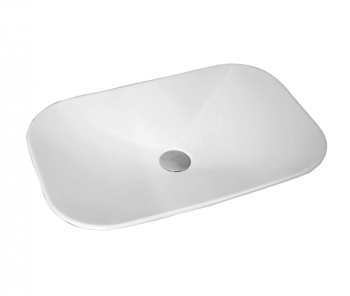 vitra options piu due rectangular countertop basin vitrad154 5221 home ...