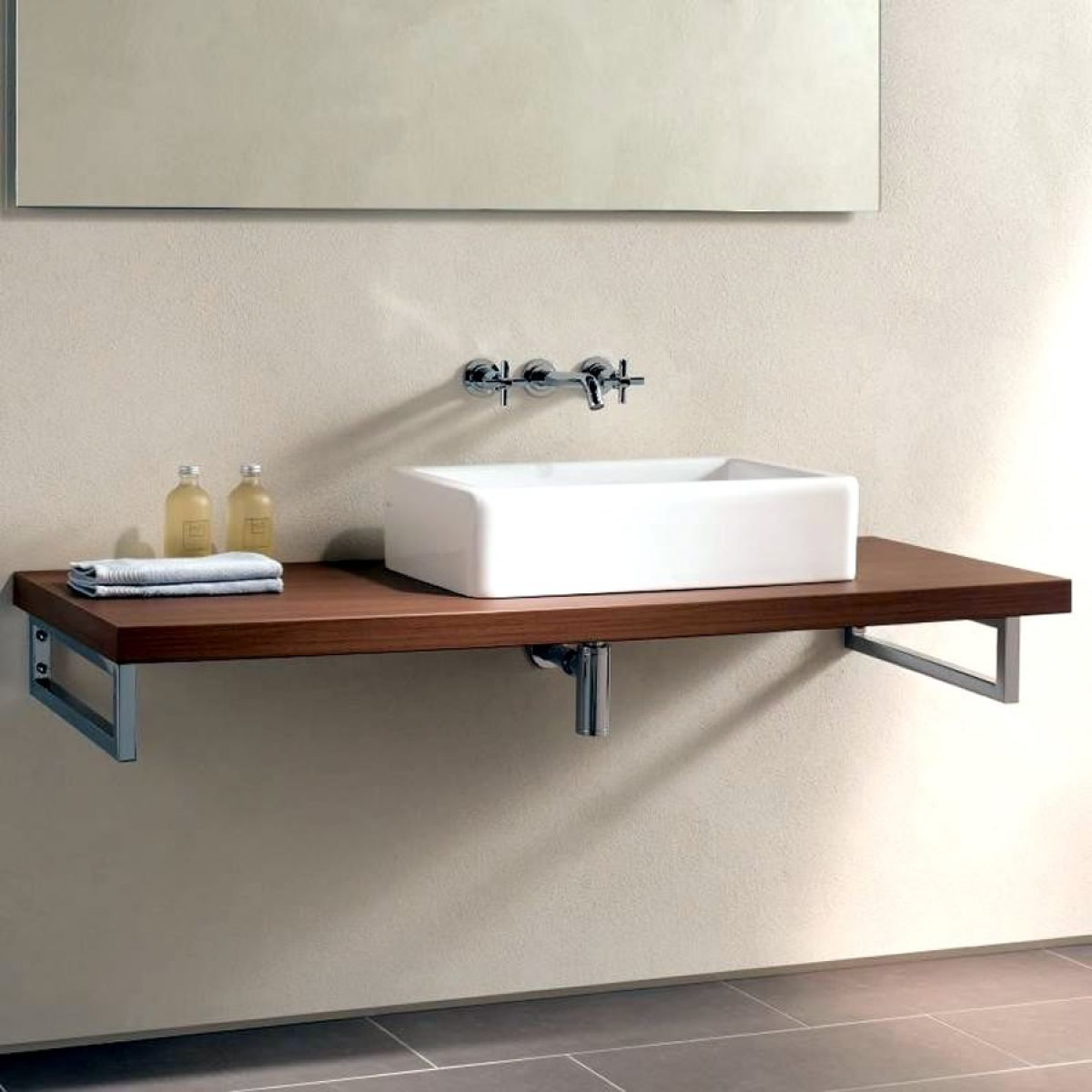 Vitra Options Countertop Bracket Uk Bathrooms