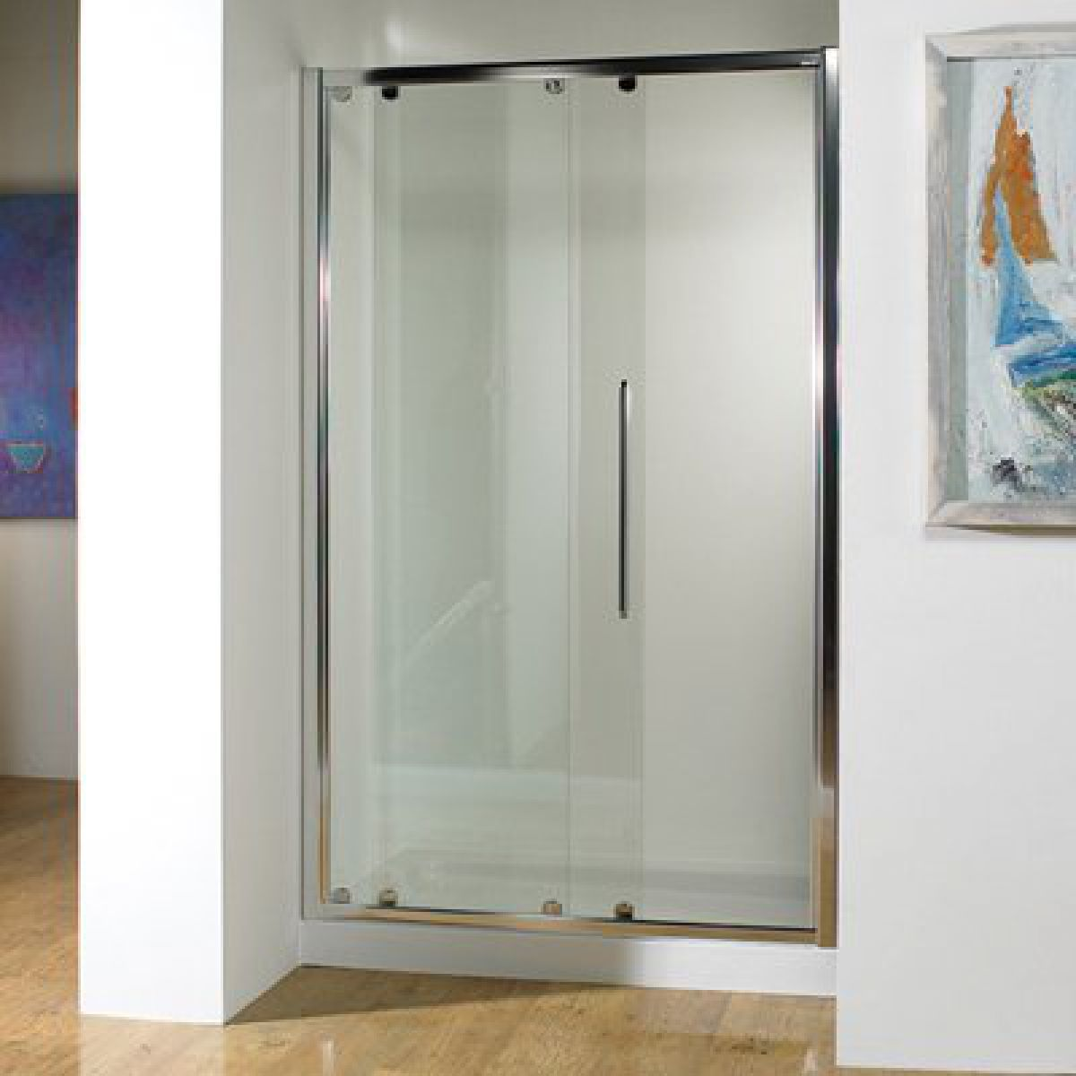 Kudos Original Sliding Shower Door : UK Bathrooms