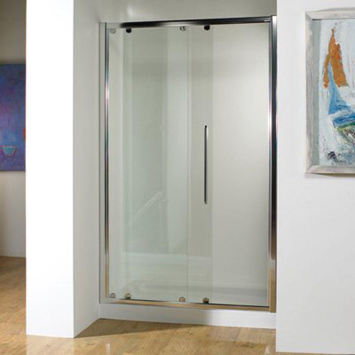 Kudos original sliding shower door uk bathrooms for 1200 slider shower door