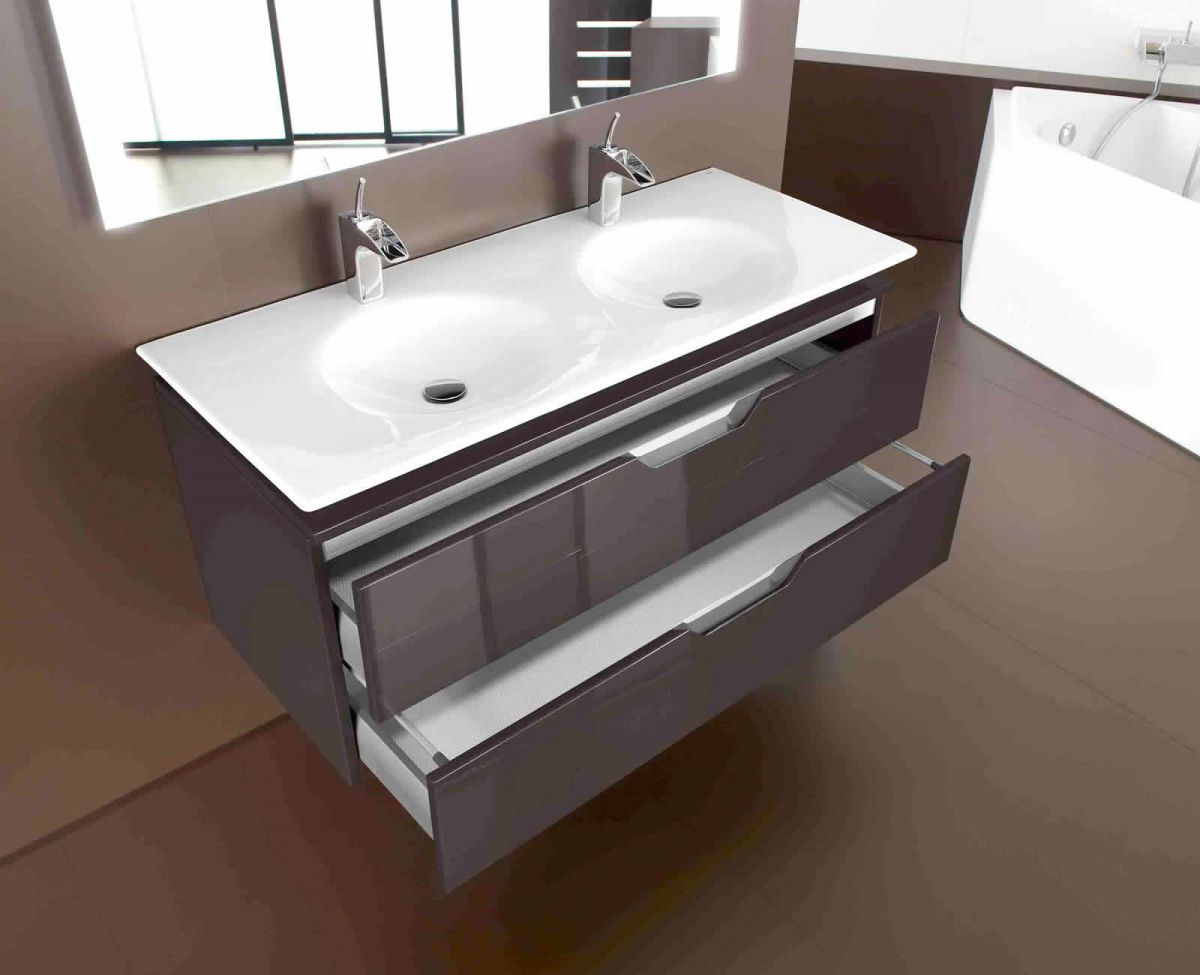 Roca Kalahari Double Basin : UK Bathrooms