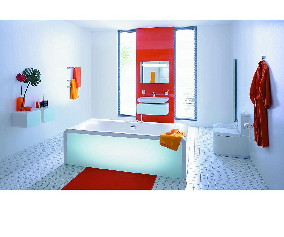 ideal standard moments rectangular designer bath uk. Black Bedroom Furniture Sets. Home Design Ideas
