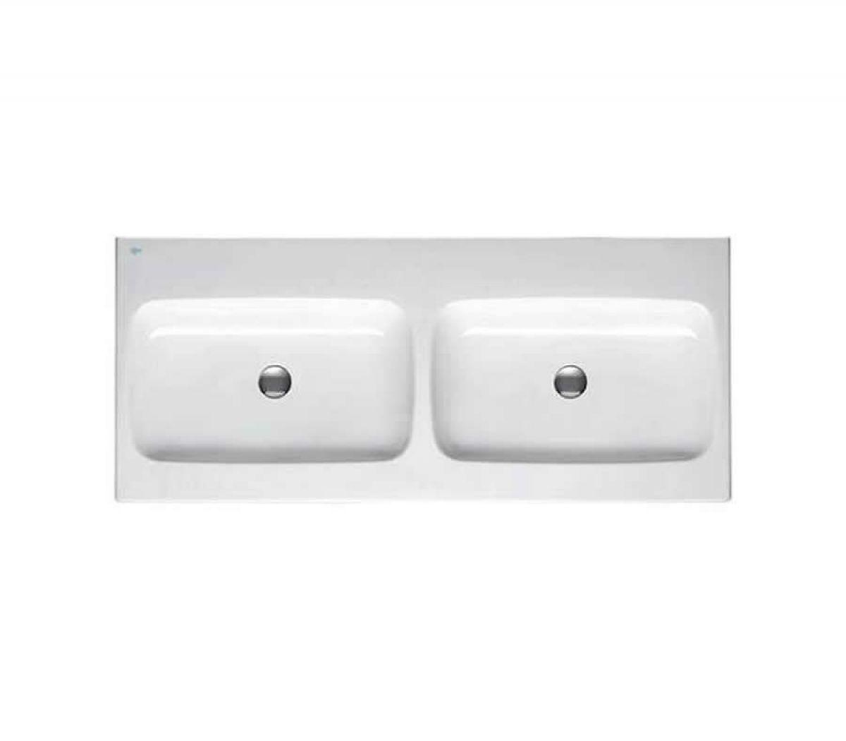 ideal standard simplyu dynamic 1200mm double basin uk. Black Bedroom Furniture Sets. Home Design Ideas