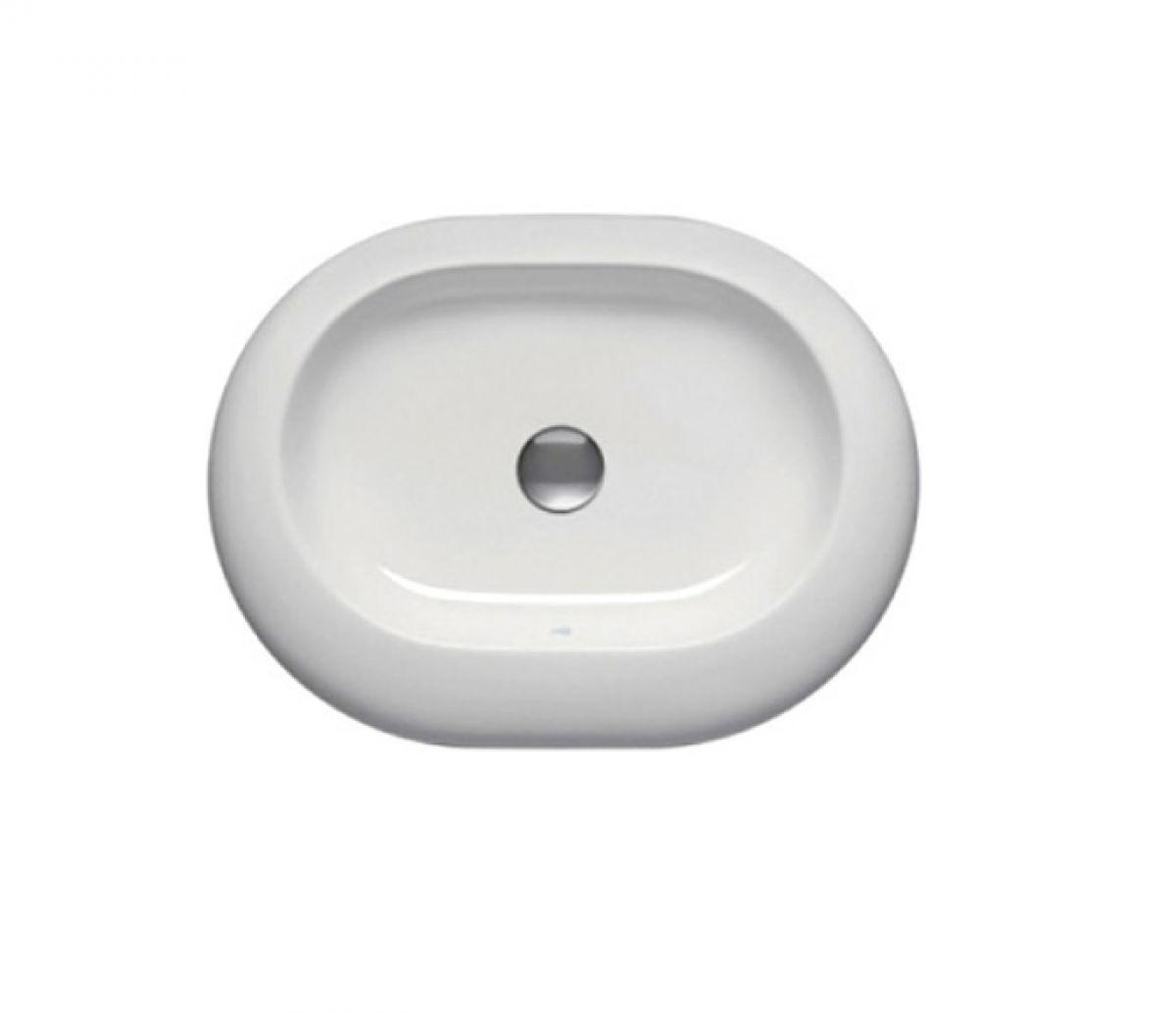 ideal standard simplyu 600mm natural oval vessel basin uk bathrooms. Black Bedroom Furniture Sets. Home Design Ideas