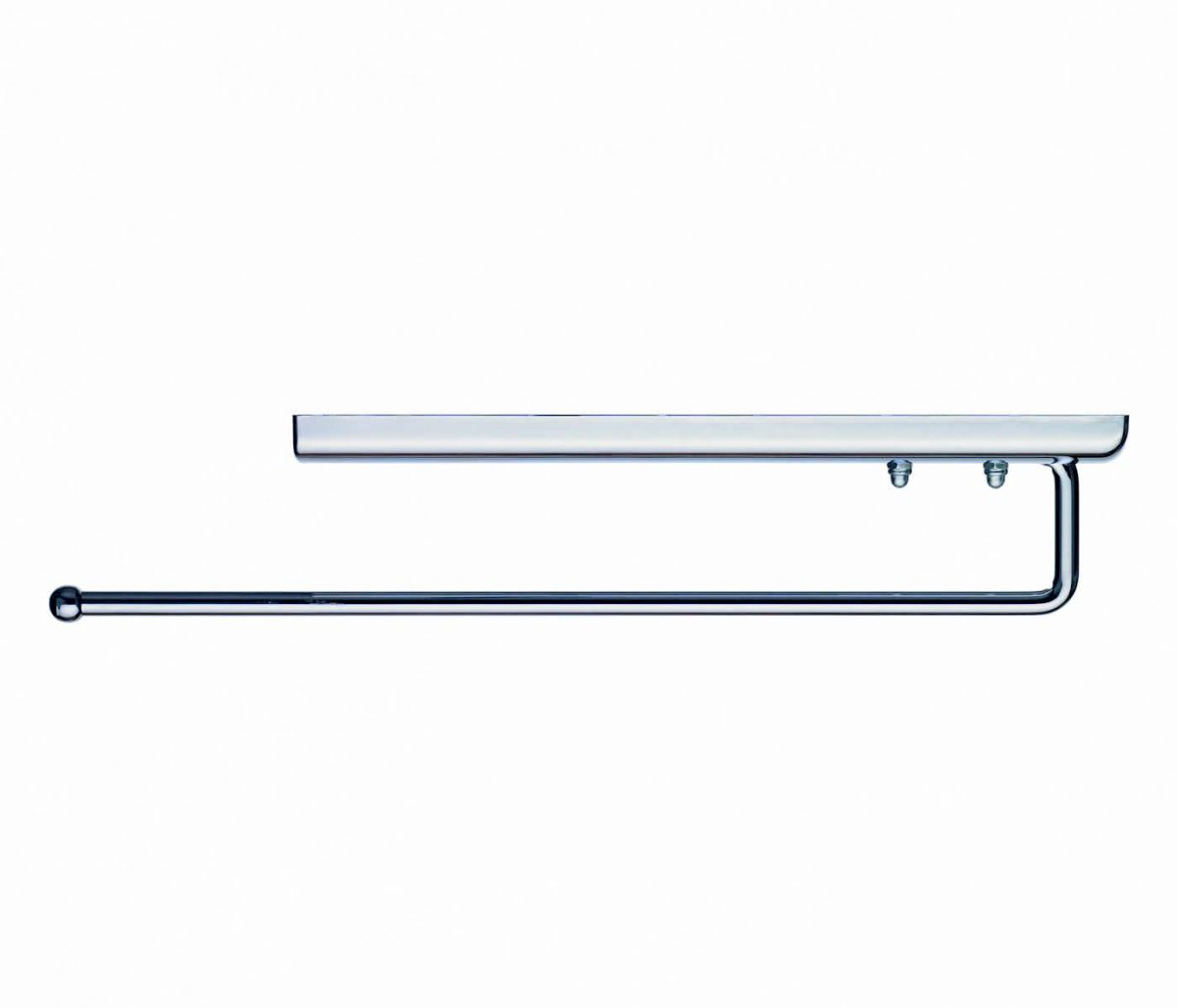 Ideal standard daylight chrome towel rail ukbathrooms - Bathroom accessories towel rail ...