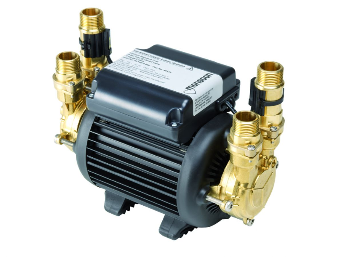 Stuart Turner Monsoon Standard 1.5 bar Twin Shower Pump - 46506