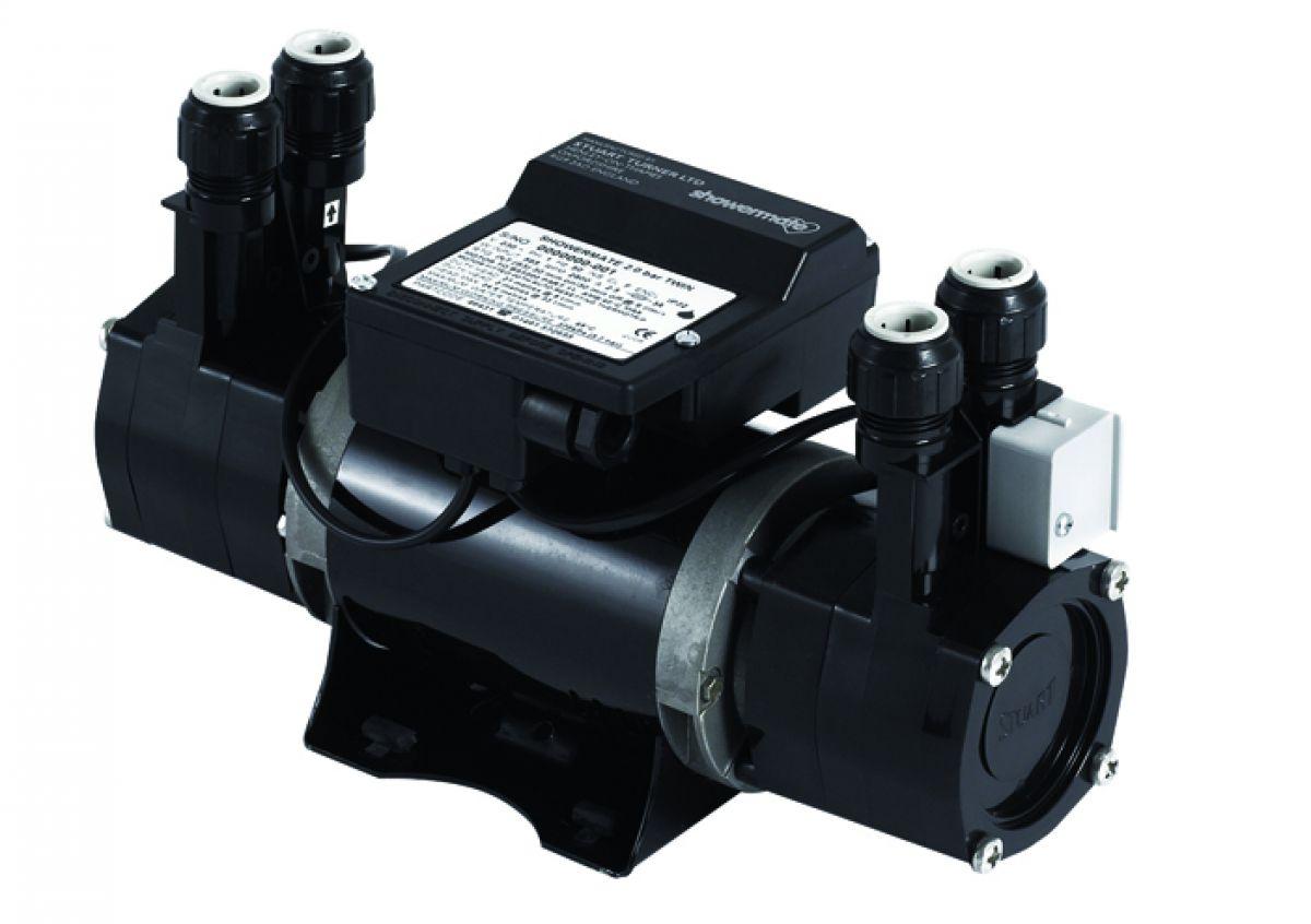 Stuart Turner SHOWERMATE 2.6 Bar Twin Shower Pump - 46431