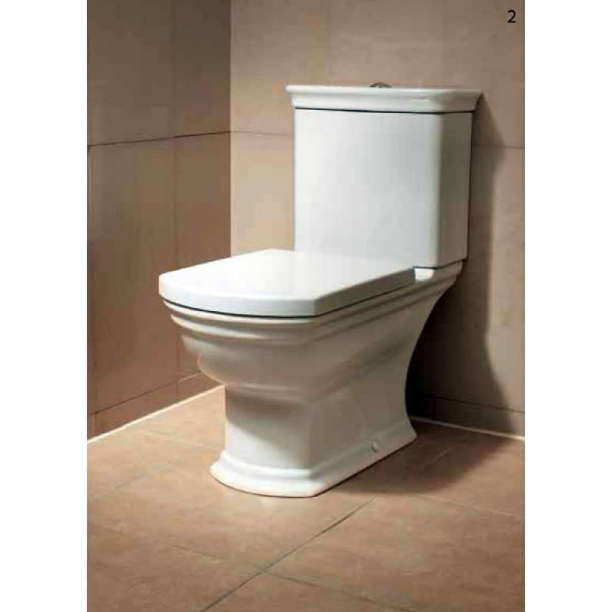 vitra serenada closed coupled toilet uk bathrooms. Black Bedroom Furniture Sets. Home Design Ideas