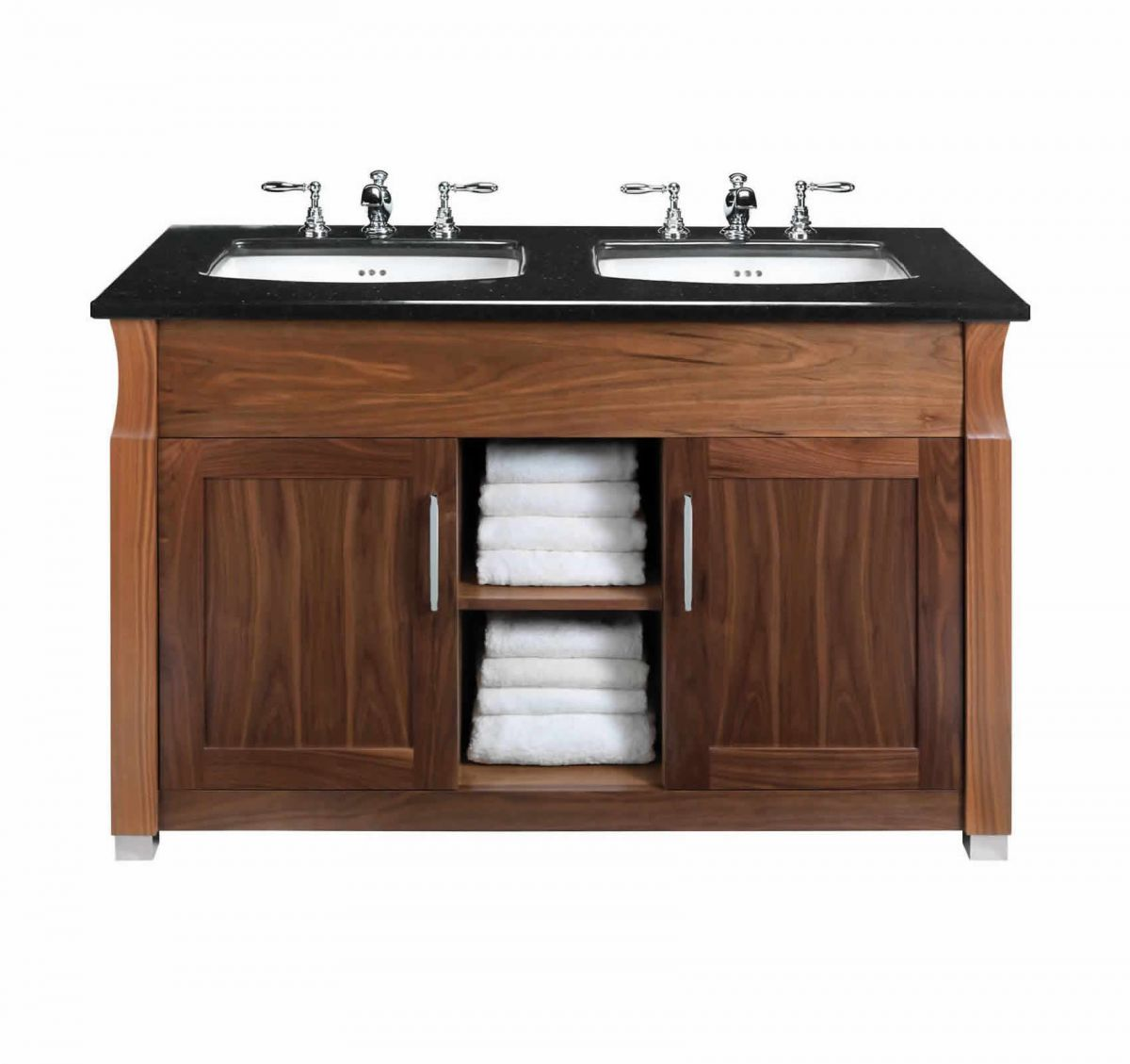 Double Bathroom Sink Units Uk imperial astoria deco barrington double vanity  unit : uk bathrooms