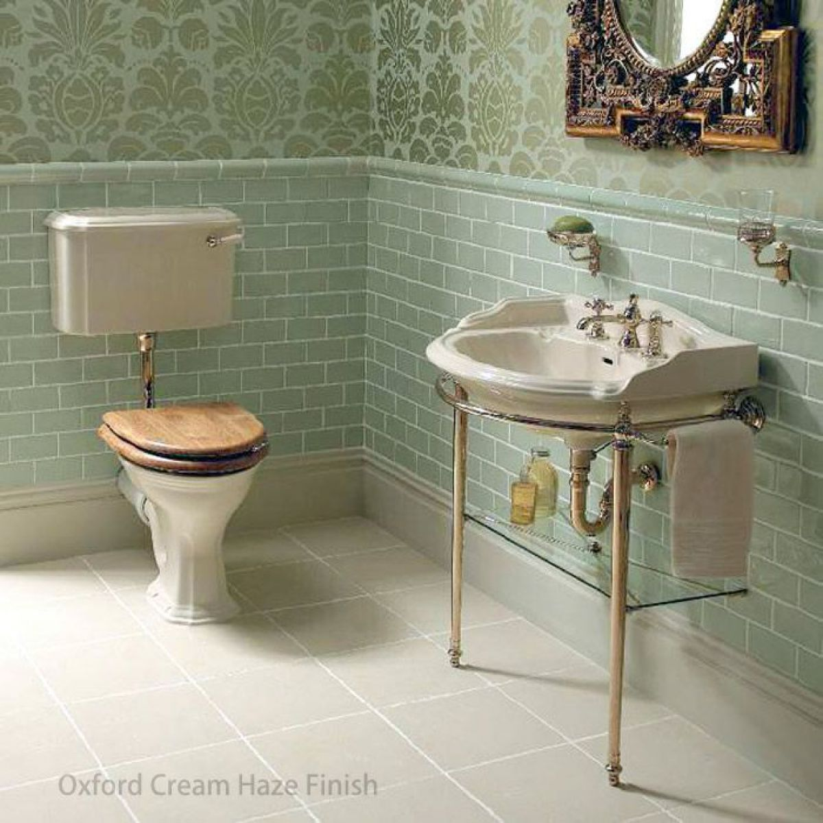 Imperial Oxford Wall Hung Cloakroom Basin 535mm Uk Bathrooms