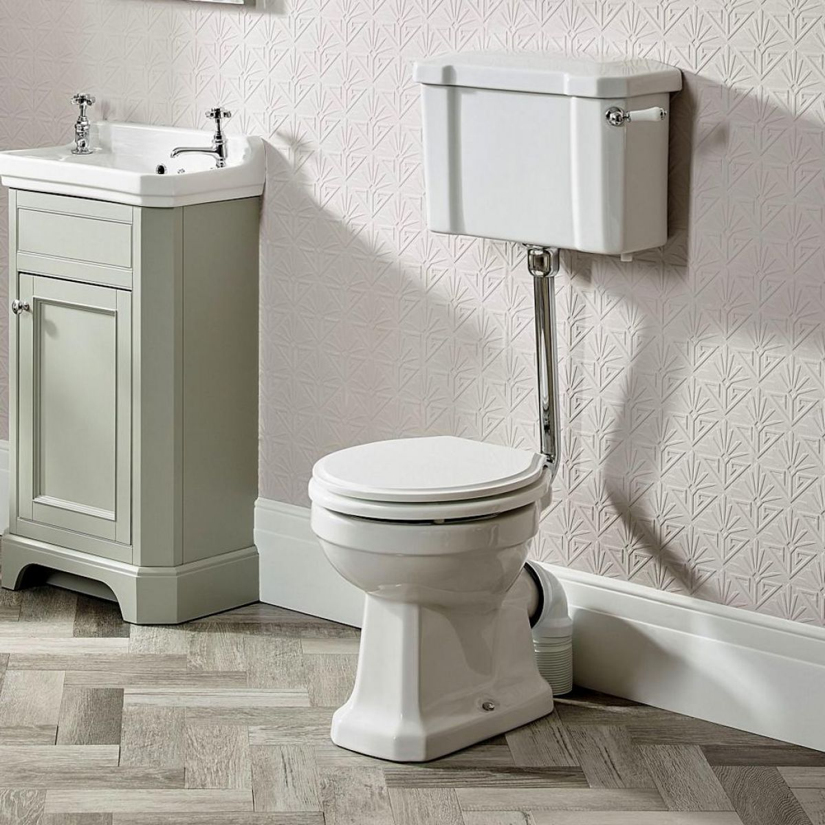 example image of a traditional toilet