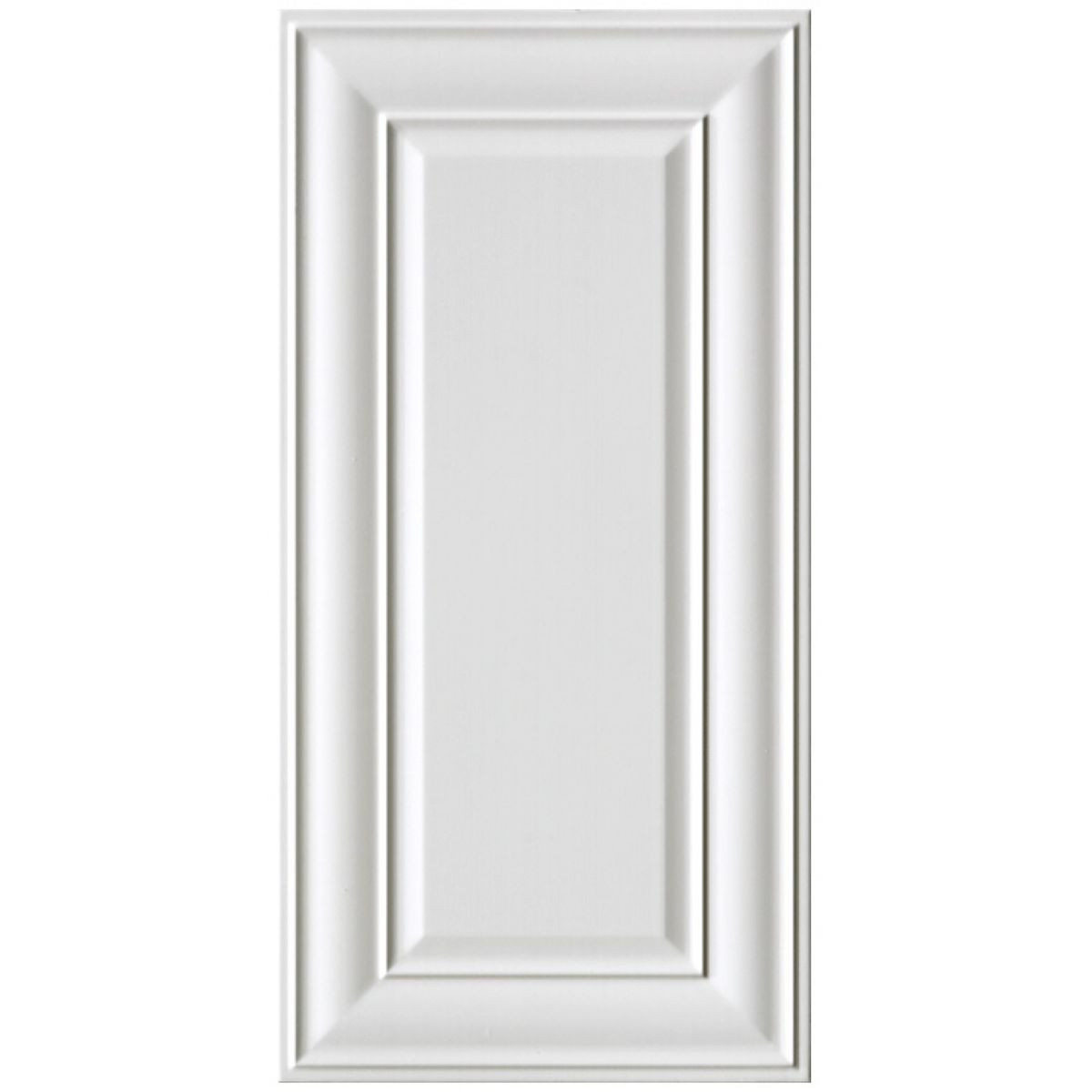 Imperial Bathrooms Edwardian Panel Tile White 30 X 60cm