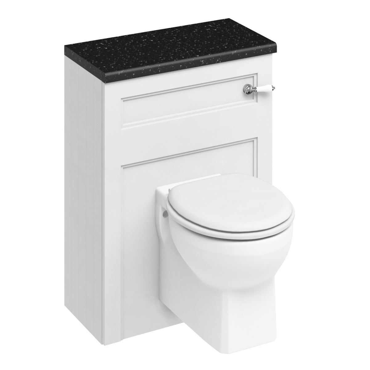 Burlington Fitted Furniture Wall Hung Toilet Unit