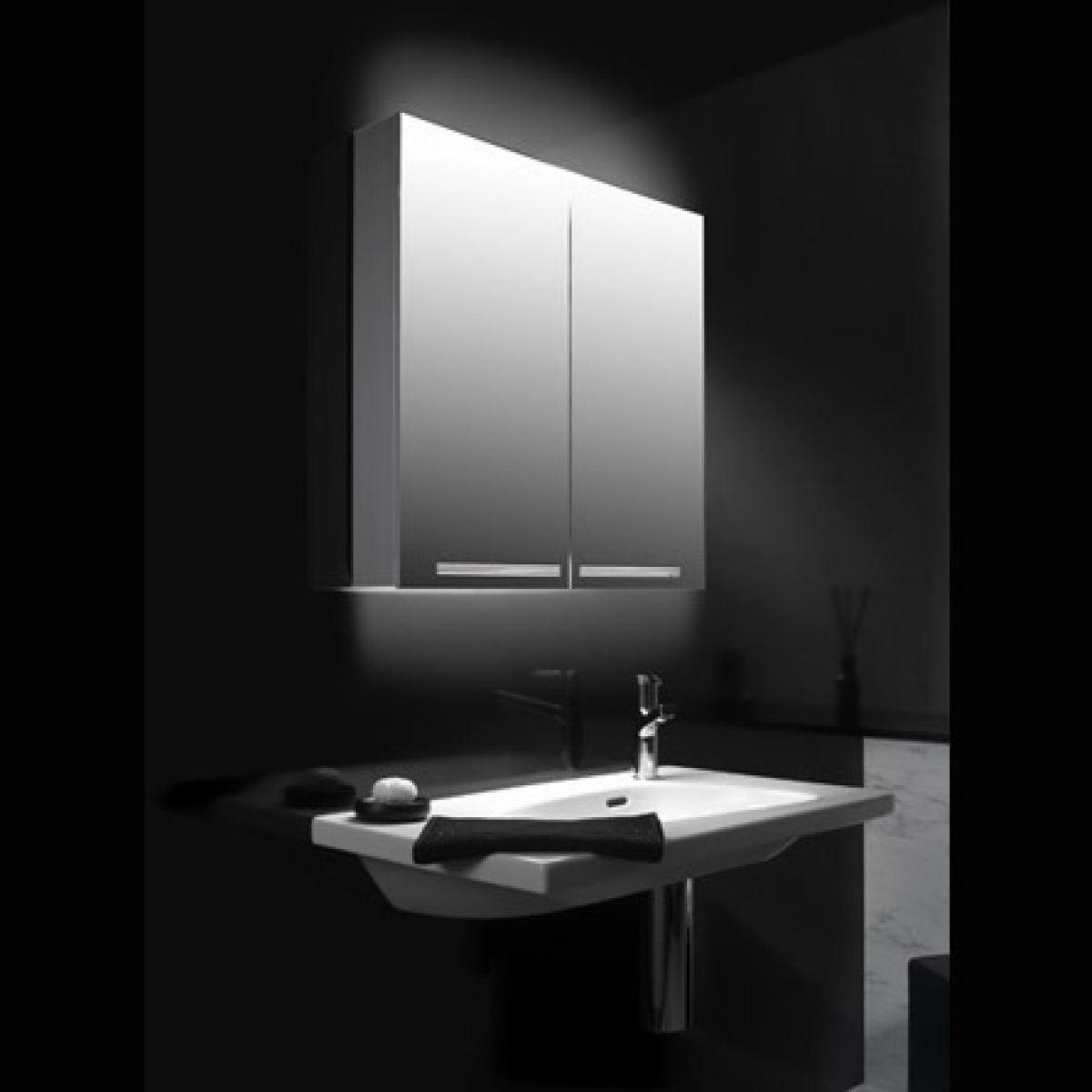 Schneider Graceline 2 Door Mirror Cabinet Uk Bathrooms
