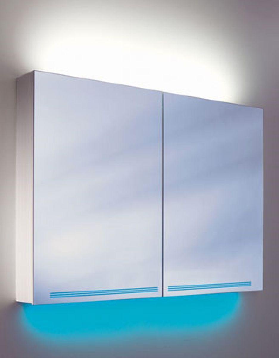 Schneider Graceline 2 Door Mirror Cabinet : UK Bathrooms