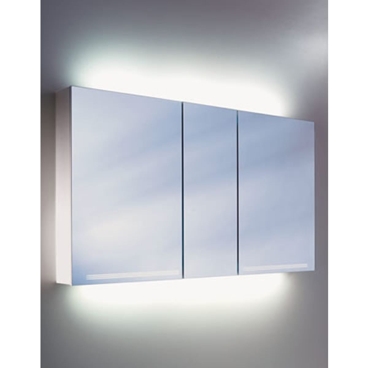 Schneider Graceline 3 Door Mirror Cabinet Uk Bathrooms